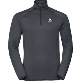 Odlo Carve Light Midlayer met 1/2 rits Heren, odlo graphite grey